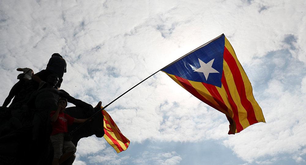 Bandera independentista de Cataluña