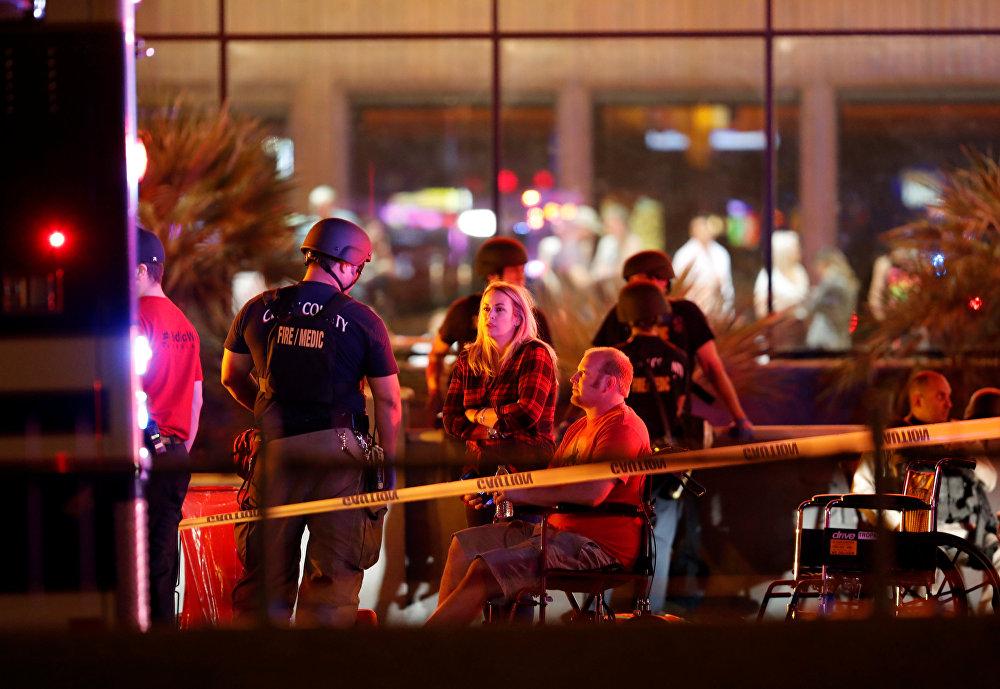 Fuertes imágenes: el tiroteo más grave de la historia de EEUU