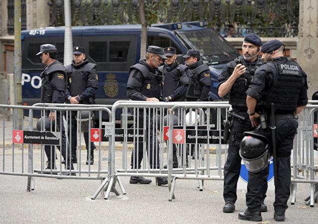 Agentes de la Policía Nacional de España