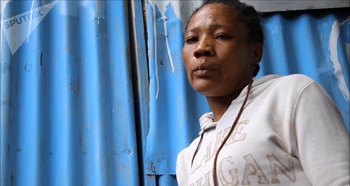 Fabiana, una víctima de acoso sexual en Haití