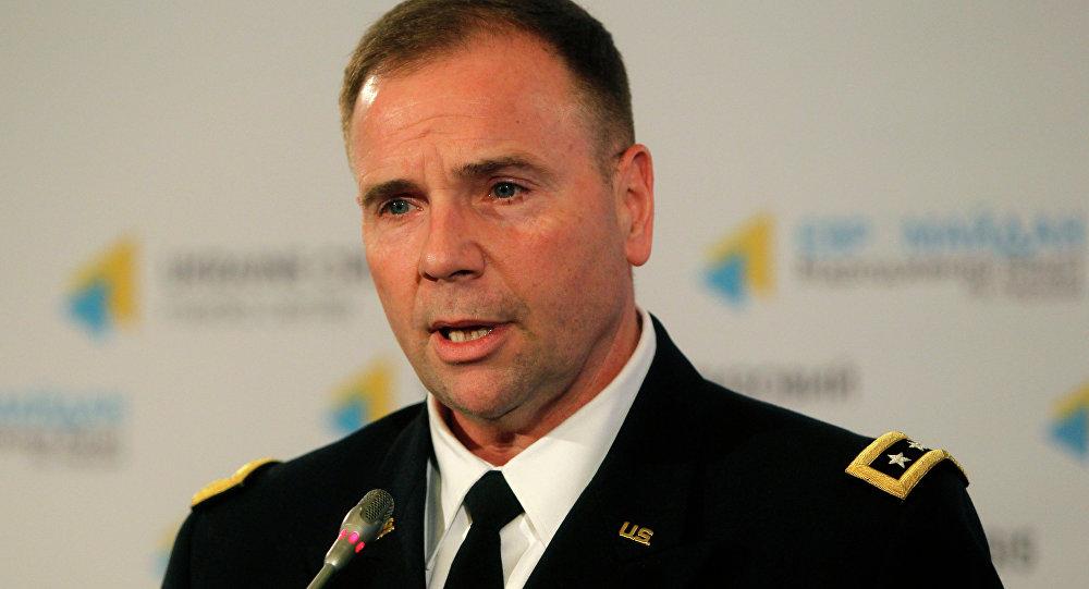 Teniente general Ben Hodges, comandante de las fuerzas de Estados Unidos en Europa