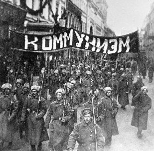 La revolución de octubre de 1917 en Rusia