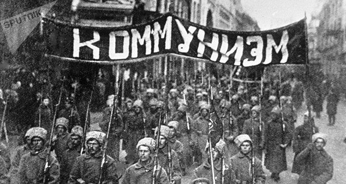 La revolución de Octubre 1917 en Rusia