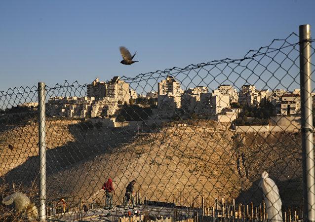 Colonia de Maale Adumim, situada a las afueras de Jerusalén (archivo)