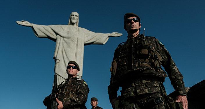Militares brasileños (archivo)