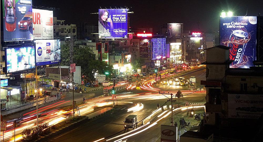 Una activa vida de una ciudad nocturna (imagen referencial)