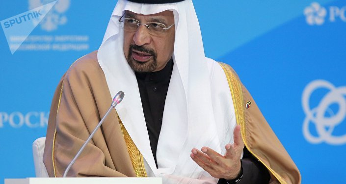 Khalid Falih, ministro saudí de Energía (archivo)