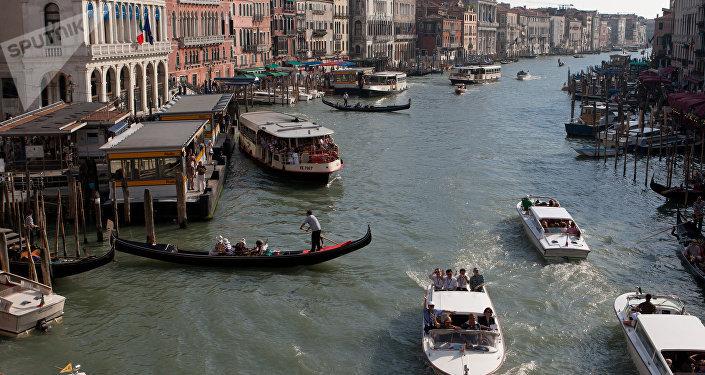 Venecia, capital de la región italiana de Véneto