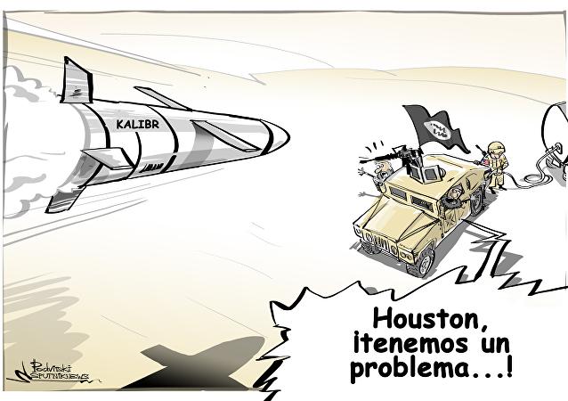 Los misiles Kalibr le aguan la fiesta a Daesh y compañía