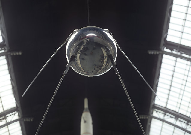 Sputnik, el primer satélite artificial de la Tierra (archivo)