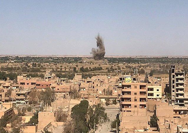 Situación en Deir Ezzor, Siria (archivo)