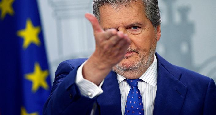 Madrid ofrece una rueda de prensa sobre el traslado de empresas fuera de Cataluña
