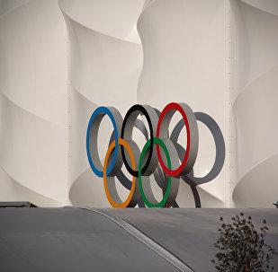 El símbolo de los Juegos Olímpicos