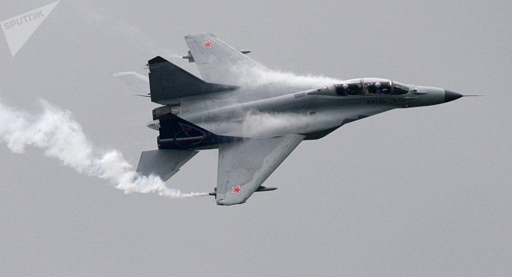 El caza ruso polivalente de generación 4++ MiG-35