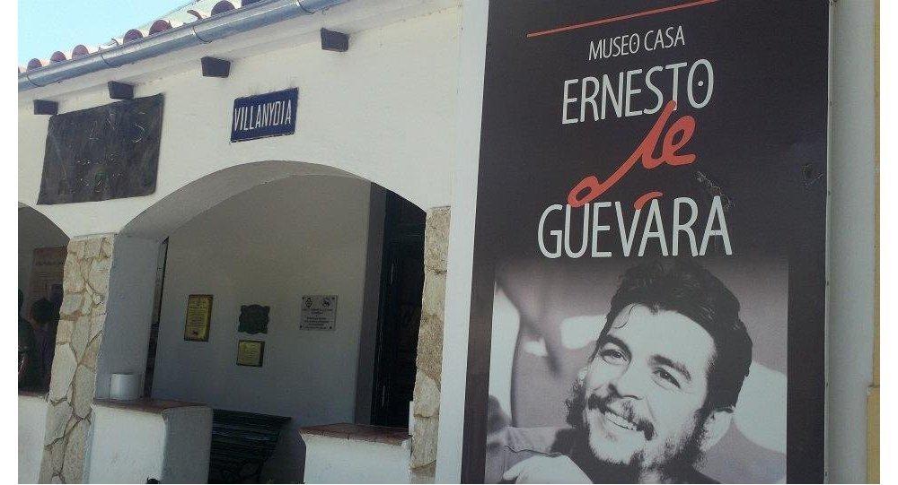 Fachada de la antigua casa de Ernesto Che Guevara en Alta Gracia, el primer museo en su homenaje en Argentina