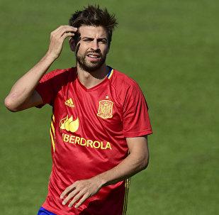 Gerard Piqué, futbolista español (archivo)