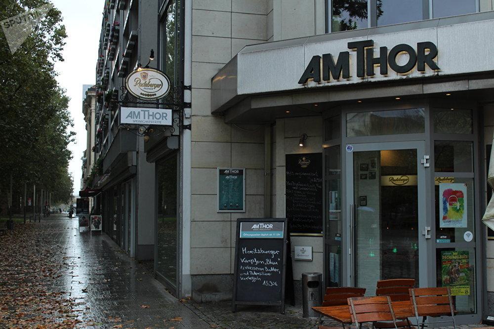 El restaurante Am Thor