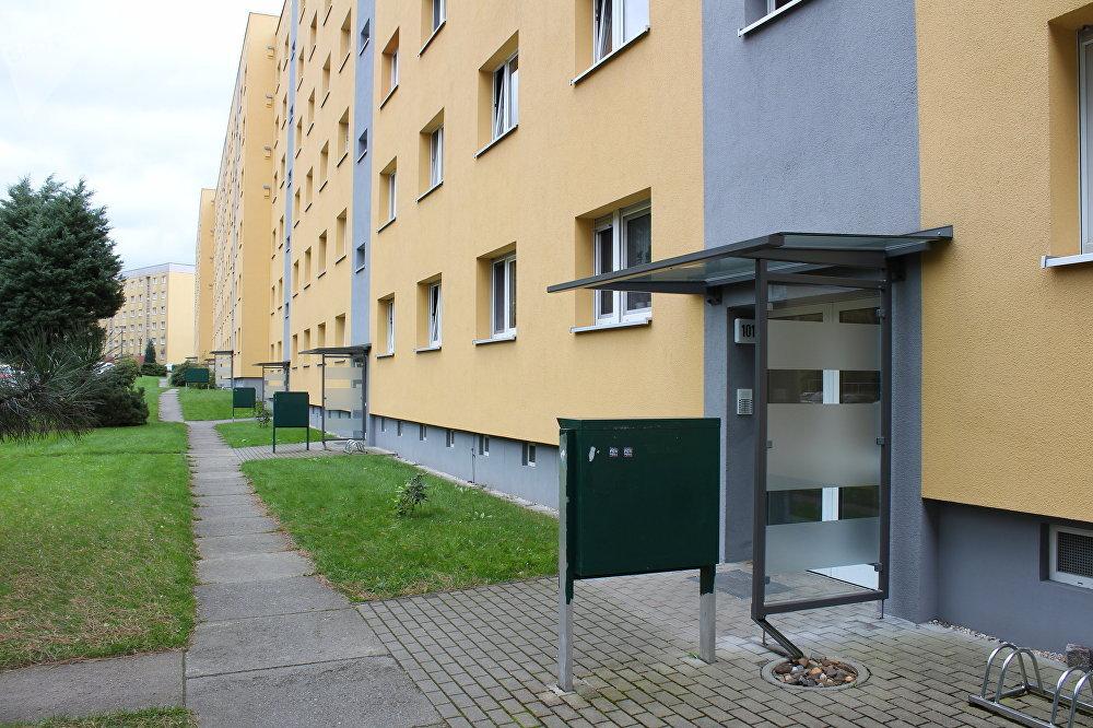 Calle Radeberger, número 101, la dirección del edifício donde vivió Vladímir Putin y su familia de 1985 a 1990