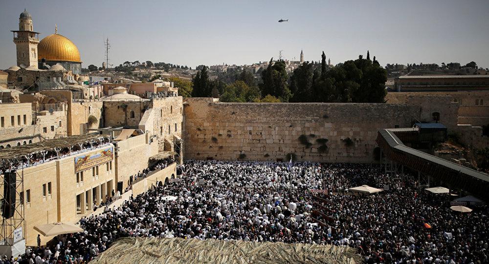 Vista a la Explanada de las Mezquitas de Jerusalén