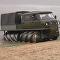 El vehículo todoterreno ZVM-2901 sobre 'brocas'