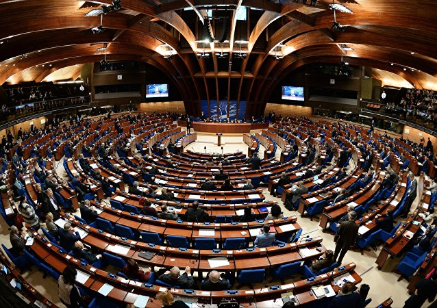 La Asamblea Parlamentaria del Consejo de Europa (PACE)