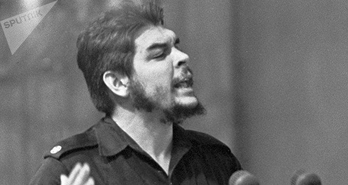 Che Guevara en Moscú en 1960