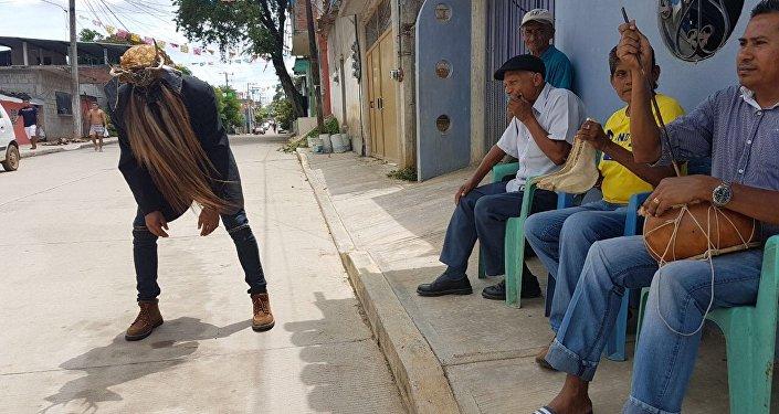Durante los bailes tradicionales de los municipios afromexicanos