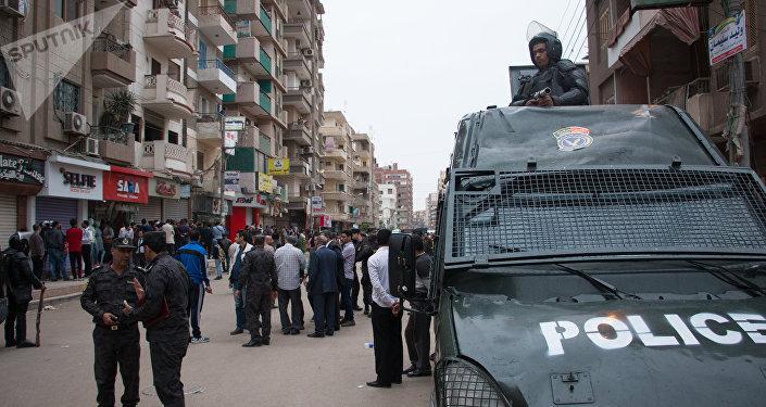 La policia de Egipto