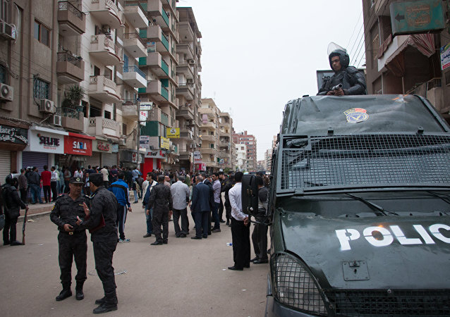 La policia de Egipto (archivo)