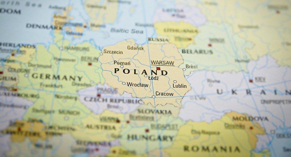 Mapa de Polonia