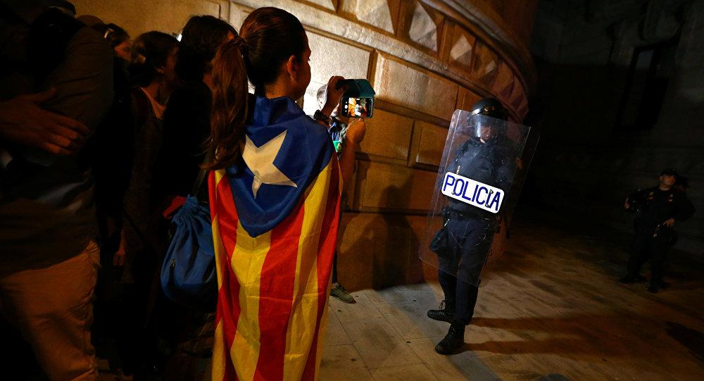 Situación en Barcelona, Cataluña, España