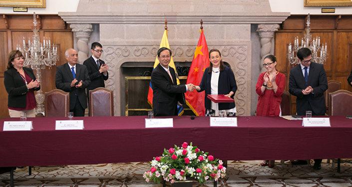 Ecuador y China suscriben acuerdos de cooperación no reembolsable para la reconstrucción de Manabí