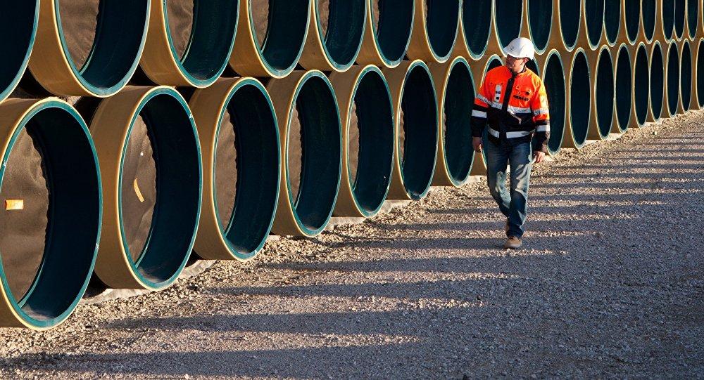 Construcción del gasoducto Nord Stream
