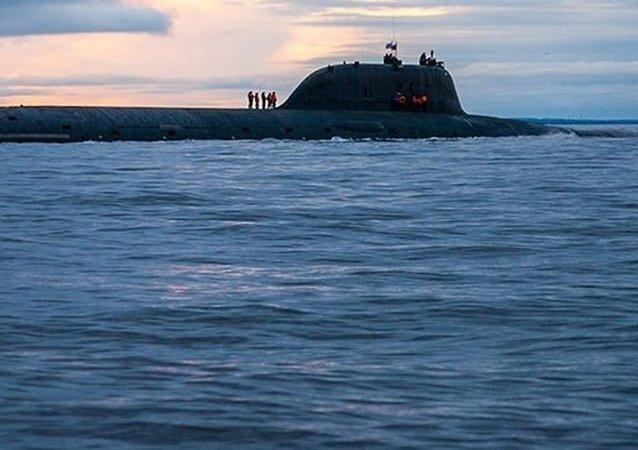 Un submarino de la clase Yasen (archivo)