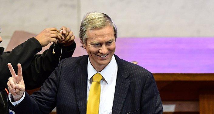 José Antonio Kast, candidato derechista a la presidencia de Chile
