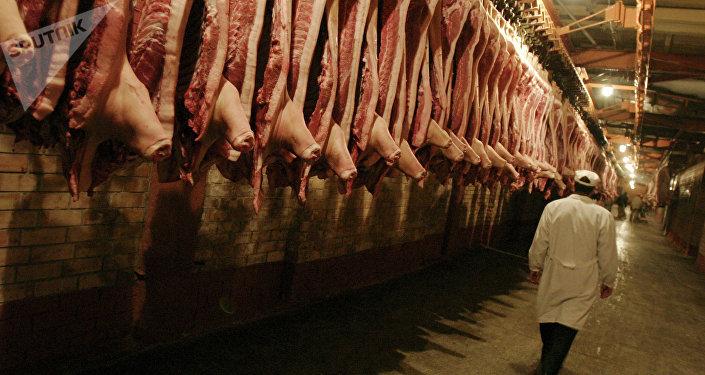 Exportaciones de carne brasilera a Rusia