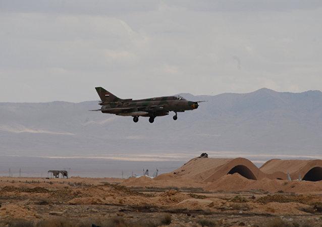 Un MiG-21 sirio