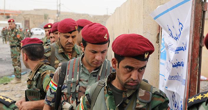 Militares peshmerga (archivo)