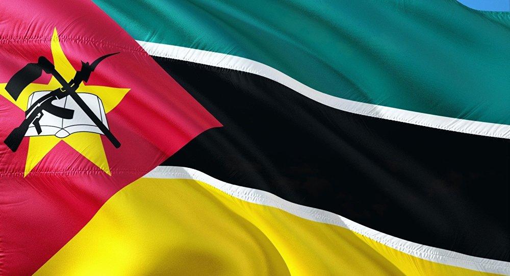 La bandera de Mozambique