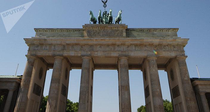 Berlín, Puerta de Brandeburgo, Alemania