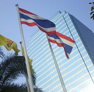Las banderas de Tailandia