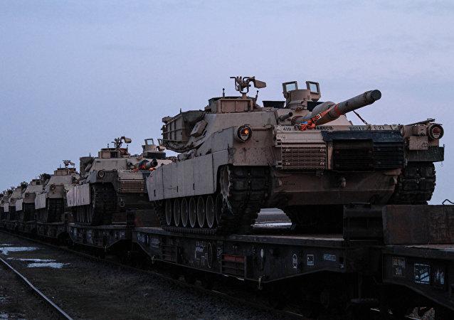 Tanques de EEUU (imagen referencial)