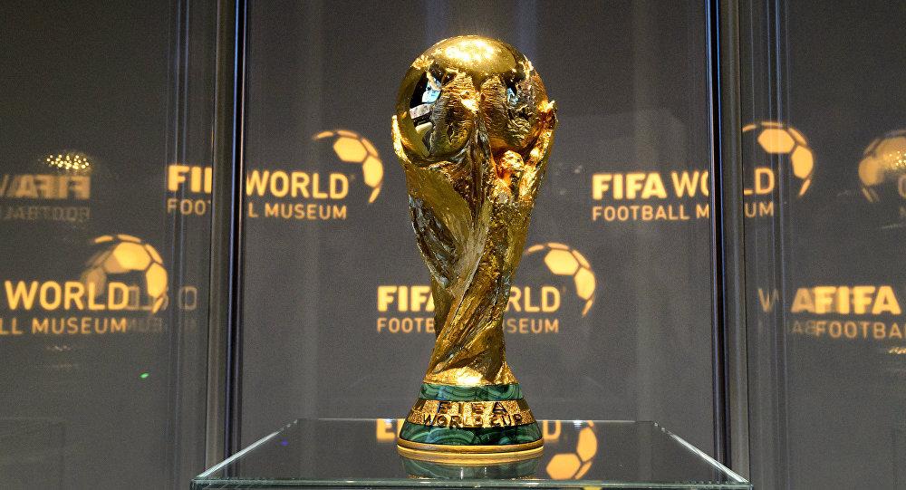 El Trofeo De La Copa Mundial De Futbol