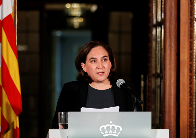Ada Colau, la alcaldesa de Barcelona