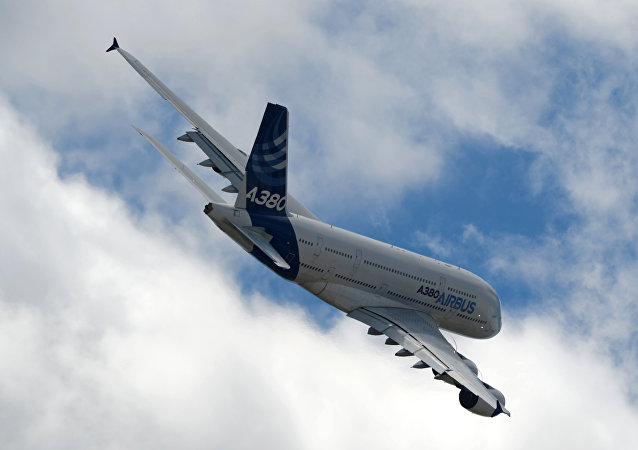 Un avión Airbus A380