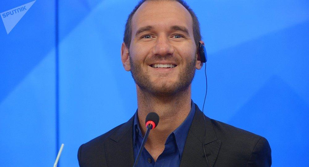 Nick Vujicic (archivo)