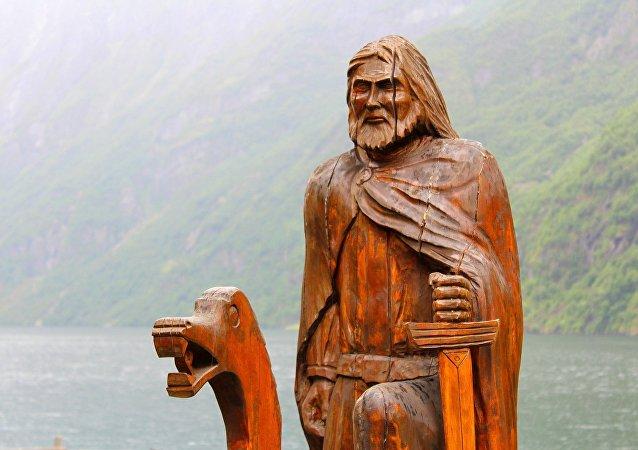 Una figura de vikingo (imagen ilustrativa)