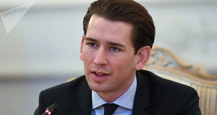 Sebastian Kurz, canciller austriaco (archivo)