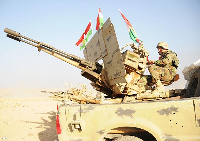 Los kurdos peshmerga