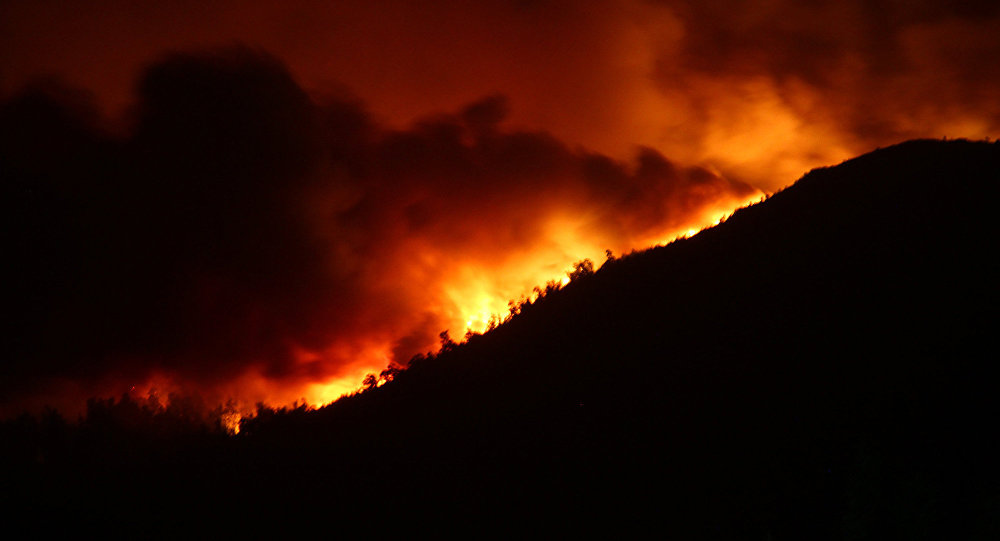 Incendios en Galicia en octubre de 2017